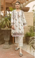 Lawn Printed Shirt 2.5 Meters Lawn Printed Trouser 2.5 Meters