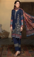 Digital Printed Shirt Embroidered Organza Neck Patti Embroidered Organza Motif for Front Embroidered Organza Border for Trouser Dyed Trouser Digital Printed Chiffon Dupatta