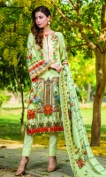 3 Piece Digital Printed Lawn Suit
