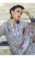 Shirt: Cambric Dupatta: Doriya Lawn Dupatta  Trouser: Cambric
