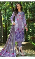 Shirt: Printed Lawn Dupatta: Embroidered Chiffon Trouser: Dyed  EMBROIDERY: Embroidered Daman on Shirt Embroidered Chiffon Dupatta