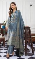 Shirt : Pearl Lawn Dupatta : Pearl Printed Lawn Trouser: Dyed Cotton
