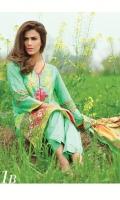 Printed 3 pcs lawn suit