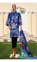 Shirt: - Digital Printed Lawn Dupatta: - Digital Printed Swiss Voil Lawn