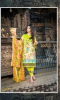 3 Pc Embroiederd Lawn Suit