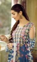 Digital Jacquard Embroidered Chiffon Duppata Collections  Shirt: Digital Jacquard Embroidered  Dupatta: Digital Chiffon Dyed Trouser