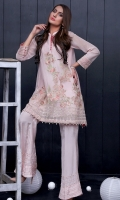 One Piece, Shirt Fabric: Cotton Net, Includes: Front, Back, Sleeves