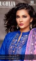 Bareeza Swiss Cotton With Embroidered Chiffon Dupatta