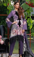 Embroidered Cotton Cotel Unstitched 3 Piece Suit