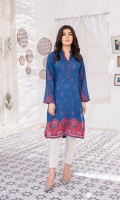 Printed Lawn Shirt with embellishments