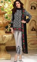 Material: Dupatta Chiffon , Shirt Lawn , Trouser Cotton
