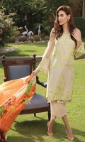 Dupatta Shafoon, Shirt Lawn, Trouser Cotton