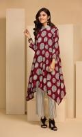 -Printed Linen Shirt: 3.5 Mtr  -Printed Linen Trouser: 2.5 Mtr
