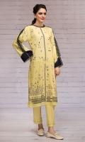 -Digital Printed Cotton Karandi Shirt: 3 Mtr  - Digital Printed Cotton Karandi Trouser: 2.5 Mtr