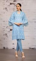 - Printed Karandi Shirt: 3.5 Mtr  - Printed Karandi Trouser: 2.5 Mtr