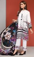 -  Digital Printed Linen Shirt: 3Mtr  - Dyed Linen Trouser: 2.5 Mtr                    -Digital Printed Linen Dupatta: 2.5 Mtr