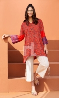 Digital Printed & Embroidered Shirt (1PC)