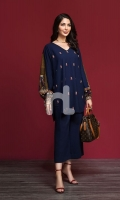 Embroidered Stitched Formal Shirt – 1PC