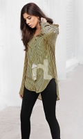 Yellow Printed Stitched Viscose Top - 1PC