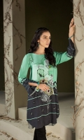 Digital Printed Stitched Linen Shirt - 1PC