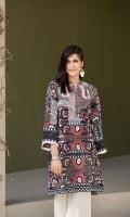 Maroon Digital Printed Stitched Khaddar Shirt - 1PC