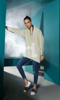 Green Plain Dyed Stitched Wash & Ware Shirt - 1PC