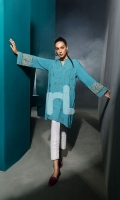 Embroidered Stitched Wash & Ware Shirt – 1PC