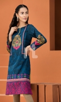 Digital Printed Stitched Lawn Shirt - 1PC