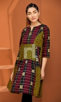 Printed Stitched Lawn Shirt- 1PC