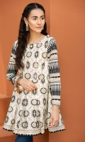 Printed Stitched Lawn Frock- 1PC