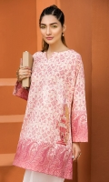 Embroidered Stitched Lawn Shirt - 1PC