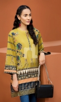 Digital Printed Stitched Lawn Shirt- 1PC
