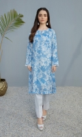 Printed Stitched Lawn Shirt - 1PC