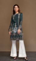 Grey Digital Printed Stitched Sateen Shirt - 1PC