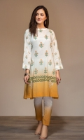 Printed Embroidered Stitched Lawn Shirt & Trouser - 2PC