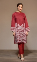Printed Stitched Lawn Shirt & Printed Trouser - 2PC