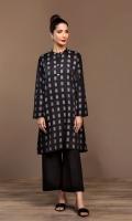 Printed Stitched Jacquard Shirt - 1PC