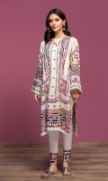 Digital Printed Lawn Shirt: 3 Mtr Digital Printed Cambric Trouser: 2.5 Mtr