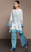Fabric: Lawn & Cambric Shirt: 3 Mtr Trouser: 2.5 Mtr