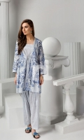 Printed Stitched Shirt, Camisole & Shalwar (3PC)
