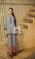 Printed Stitched Shirt & Printed Trouser (2PC)