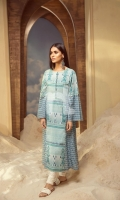 Printed Stitched Lawn Frock (1PC)