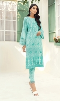-Printed Super Fine Lawn Shirt: 2 Mtr  -Printed Cambric Trouser: 2 Mtr  -Embroidered Front