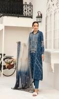 -Digital Printed Super Fine Lawn Shirt: 3 Mtr  -Digital Printed Silk Dupatta: 2.5 Mtr