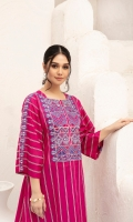 - Printed Super Fine Lawn Shirt: 3.5 Mtr  - Printed Cambric Trouser: 2.5 Mtr               -Embroidered Neckline + Border (Patch)