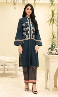 - Dyed Super Fine Lawn Shirt: 3.5 Mtr  -Printed Cambric: 2.5 Mtr                                 -Embroidered Front + Border (Patch)