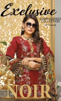 Printed Embroidered Lawn Shirt Digital Printed Crincal Dupatta Dyed Trouser