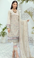 3 Piece Embroidered Lawn