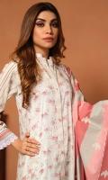 3 Meter Printed Shirt 2.5 Meter Printed Duppata 2.5 Meter Plain Cotton Trousers