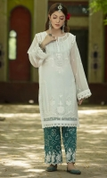 Embroidered Pret Net Suit